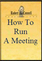 How To Run A Meeeting